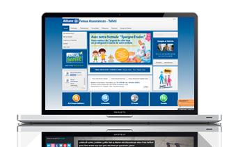 site-web-fenua-assurances-tahiti